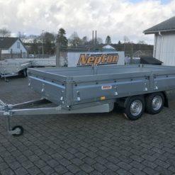 2000 kg boogietrailer GN242 Nordica N20-420-2 stor boogie trailer