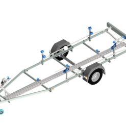 Gangbro til Neptun bådtrailer model N13-20