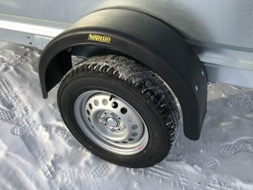 """Neptun Pro N7-253 13"""" hjul med 165/70 dæk"""