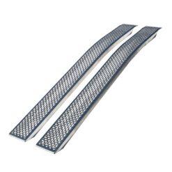Buet Alurampe | 400kg /sæt | sliskesæt - sæt a 2 styk 150x20cm eller 200x20cm - Buet udførsel