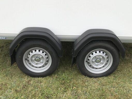STEMA Cargo trailer 301x153x180cm 2000kg - 13 tommer hjul med 155-80 dæk