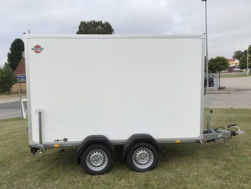 STEMA Cargo trailer 301x153x180cm 2000kg - 18mm sandwich sideplader_2