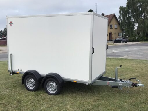 STEMA Cargo trailer 301x153x180cm 2000kg - 18mm sandwich sideplader_3