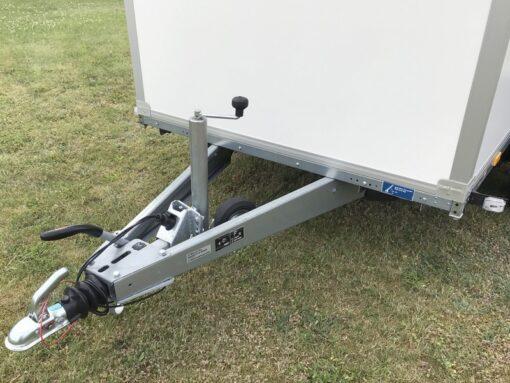 STEMA Cargo trailer 301x153x180cm 2000kg - kraftigt centermonteret aut. næsehjul