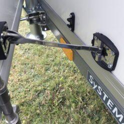 STEMA Cargo trailer 301x153x180cm 2000kg - lange dørholder på siden
