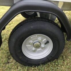 STEMA MINI 350 med 8 tommer hjul og plastskærm