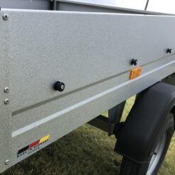 STEMA MINI 350 profilbukket stålside med GALVALUME overfladebehandling