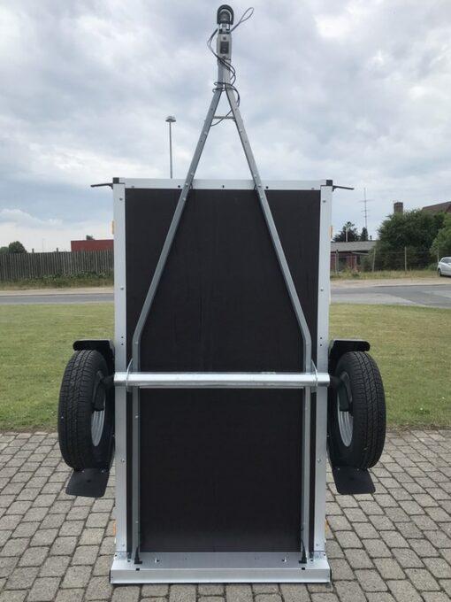 Stema FT 750 konstrueret til lodret opbevaring