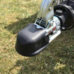 Stema FT 750 med bremse leveres med kuglekobling med gummibeskytter