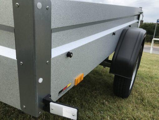 Stema FT 750 profilbukket GALVALUME behandlet staalside