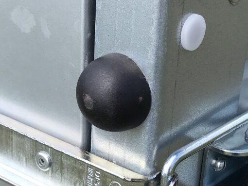 Stema OPTI 750 kraftige gummifødder til lodret opbevaring af trailer