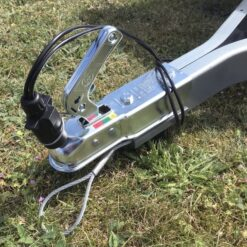 Stema OPTI 750 kuglekobling med stikholder samt sikkerhedswire