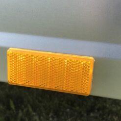 Stema OPTI 750 påklæbede gule sidereflekser