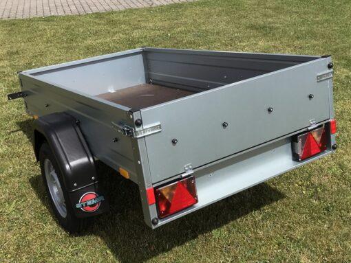 Stema trailer OPTI 750 set bagfra venstre side
