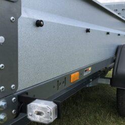 Stema REX 25 leveres med profilbukkede GALVALUME stålsider