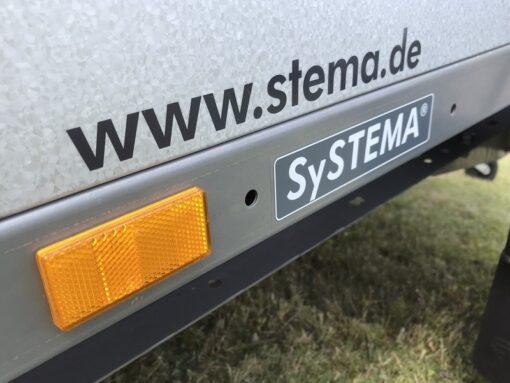 Stema REX leveres med gule markeringsreflekser på siden