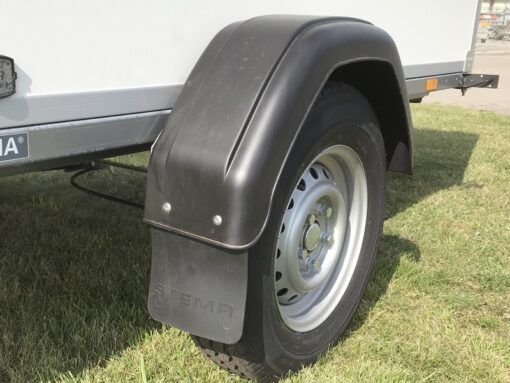 Stema Box 1300kg - 13 tommer hjul med 5-huls fælgtilslutning