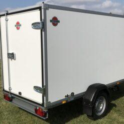 Cargoliner SyStema Box 251x128x150 - 1300kg skraat bagfra