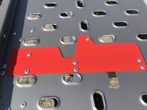 Stema ATOUR-ATEO Grande har røde markeringsplader for centrering af køretøj