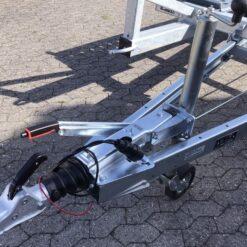 Stema ATOUR-ATEO Grande - træktriangel med alko påløbsbremse og centermonteret auto næsehjul
