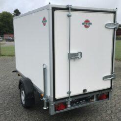 750 kg kassetrailer | Stema Box 251x129x148 set skraat bagfra